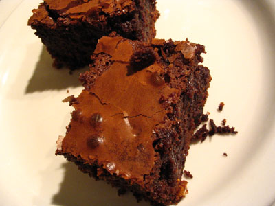 Brownies with Dried Fruit