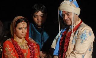 Indian Film Actress Reema Sen Wedding Pictures