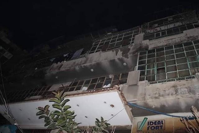الإخبارية السورية توقيف مذيعا عن العمل بسبب خطأ في تغطيته حريق منطقة العمارة بدمشق