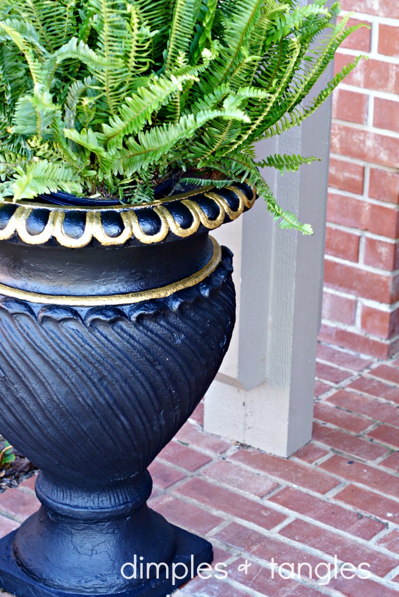 Diy Outdoor Planter Ideas Dimples And Tangles