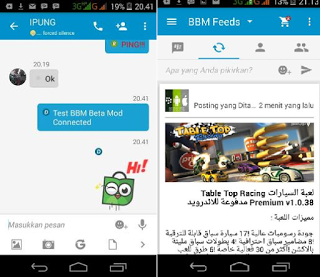 BBM Mod Beta Connected Versi 2.90.0.1.127