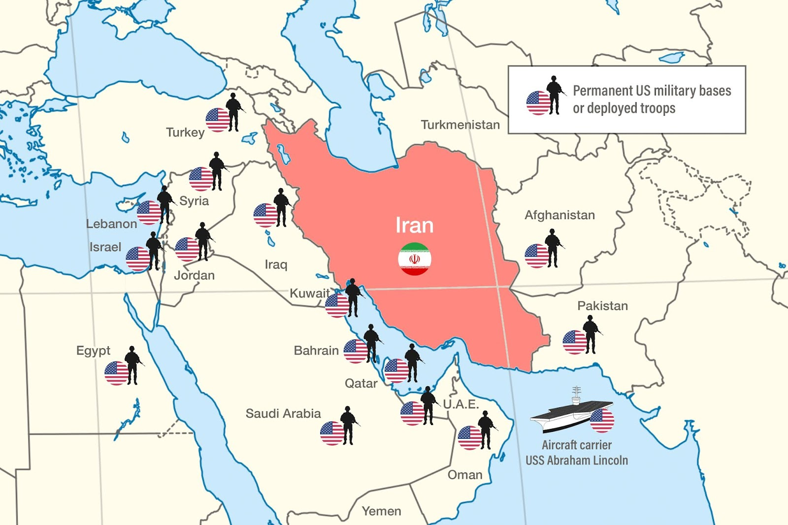 """The Postillon: """"Iran keeps moving country closer to our"""