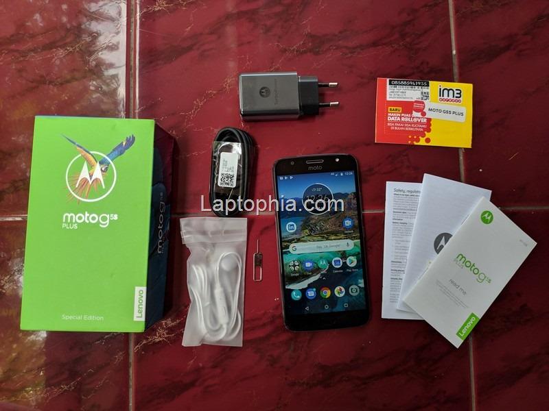 Paket Pembelian Motorola Moto G5S Plus