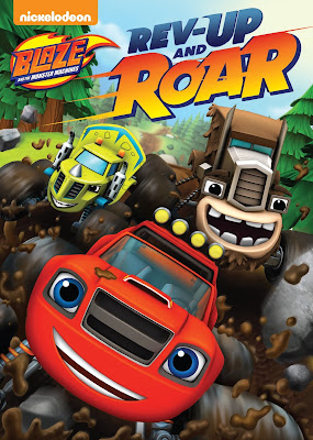Blaze And Monster Machines Rev Up And Roar 2016 DVD R4 NTSC Latino