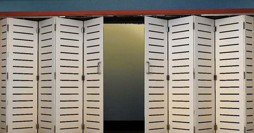4 kreasi pintu besi ruko minimalis