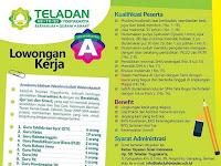 Lowongan Kerja Sekolah Teladan Yogyakarta - Deadline : 15 Januari 2019