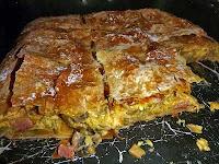 Μανιταρόπιτα με λουκάνικο - by https://syntages-faghtwn.blogspot.gr