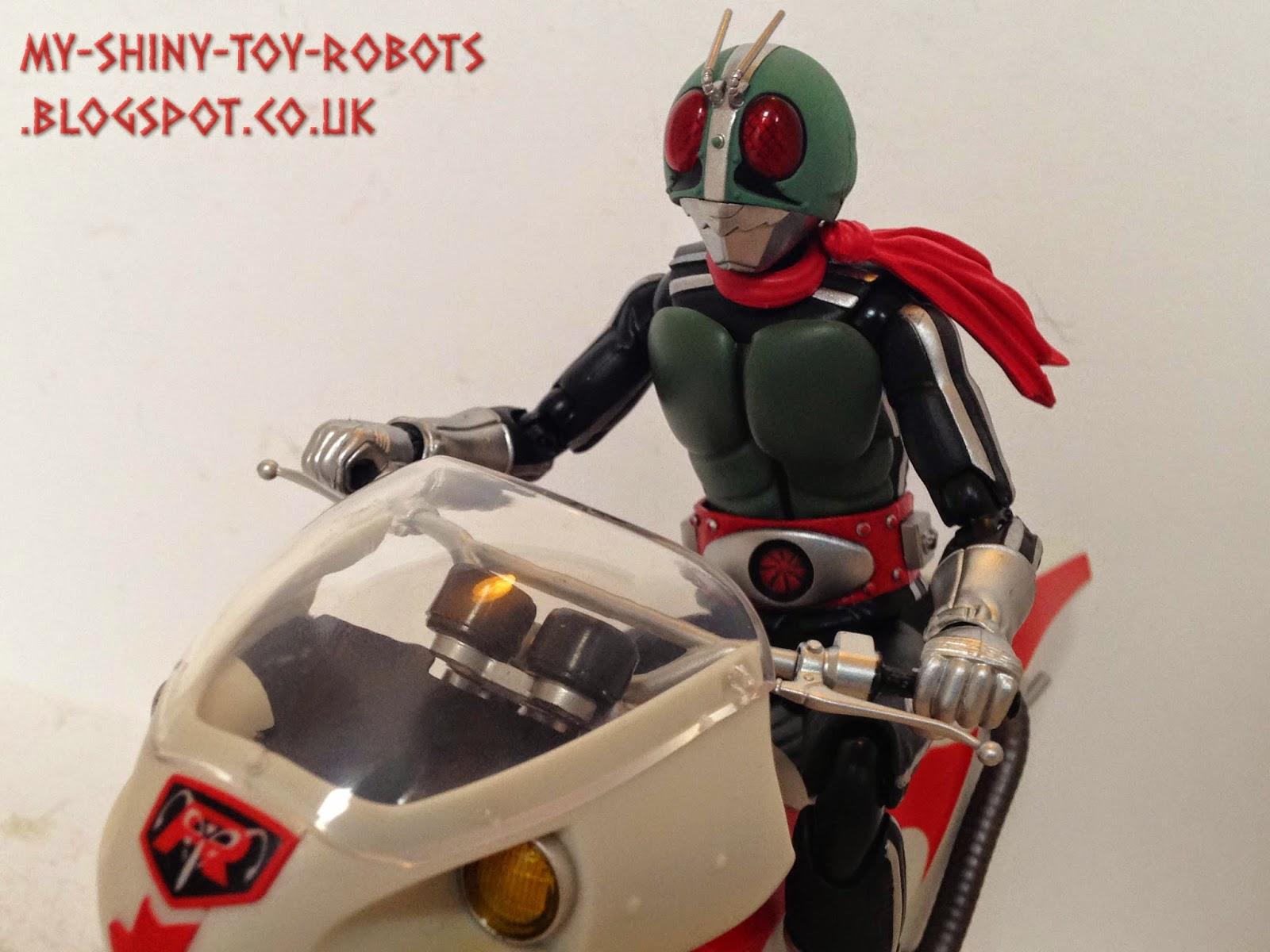 SH Figuarts Kamen Rider 1 & New Cyclone