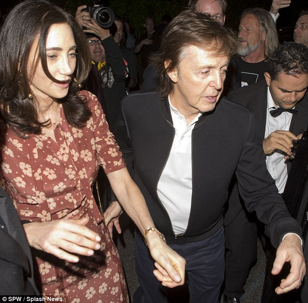 Sir pail McCartney denied entry to Tyga party