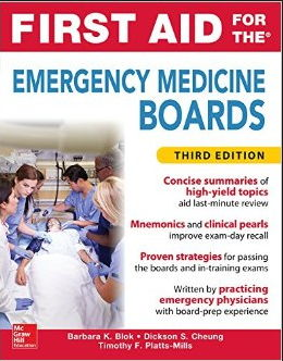 First Aid for the Emergency Medicine Boards 3rd Edition (2016) [PDF]