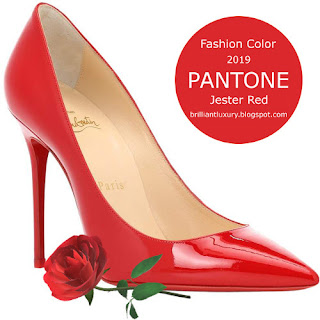 Brilliant Luxury ♦ Pantone Fashion Color ~ Jester Red