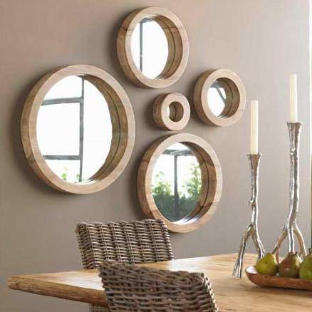 design rumah idaman: cermin hias dinding sebagai dekorasi