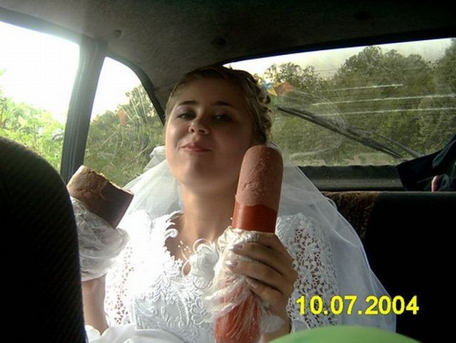 Wedding Women with Cold Dick