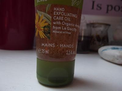 Yves Rocher Peelingový olej na ruky 75 ml