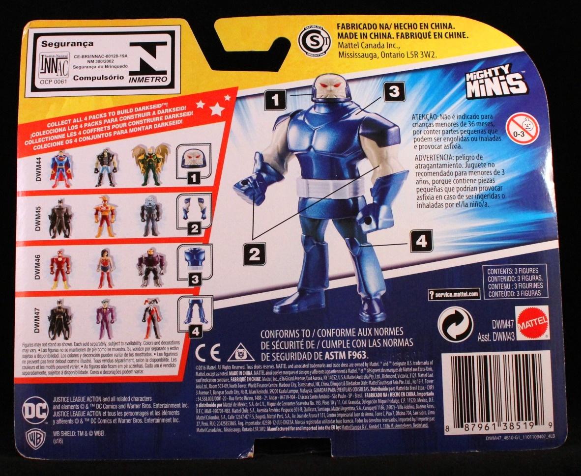 Dc Comics Justice League Mera 1//6 NM-M Funko Mystery Minis