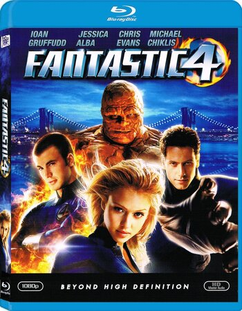 Fantastic Four (2005) Dual Audio Hindi 480p BluRay x264 300MB ESubs Movie Download