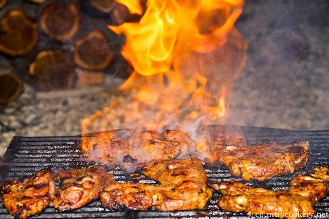 Seb's BBQ Lamb Chops