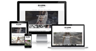 Elvira responsive blogger templates themes 2017