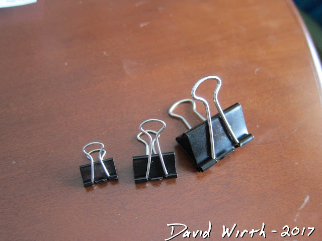 binder clip size, 3d printer, glass print bed