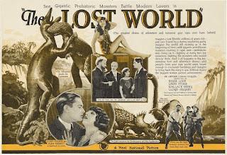 Póster película El mundo perdido - 1925