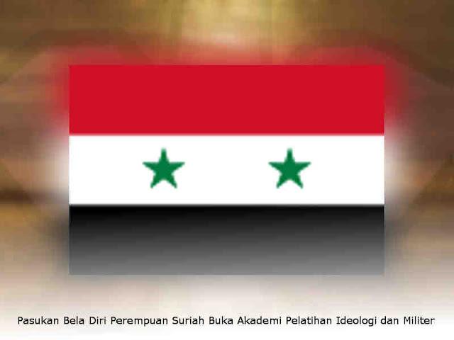Pasukan Bela Diri Perempuan Suriah Buka Akademi Pelatihan Ideologi dan Militer