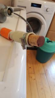 Lifehack Waschmaschine Spülmaschine Trick Korken