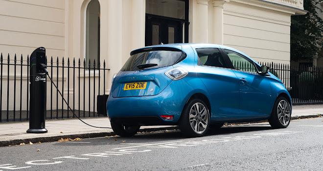 41kWh Renault Zoe charging