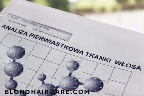 Analiza pierwiastkowa włosów - moja opinia i wyniki - czytaj dalej »