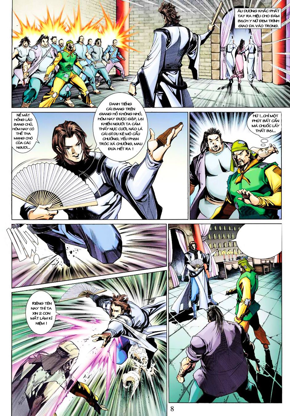 Anh Hùng Xạ Điêu anh hùng xạ đêu chap 35 trang 9