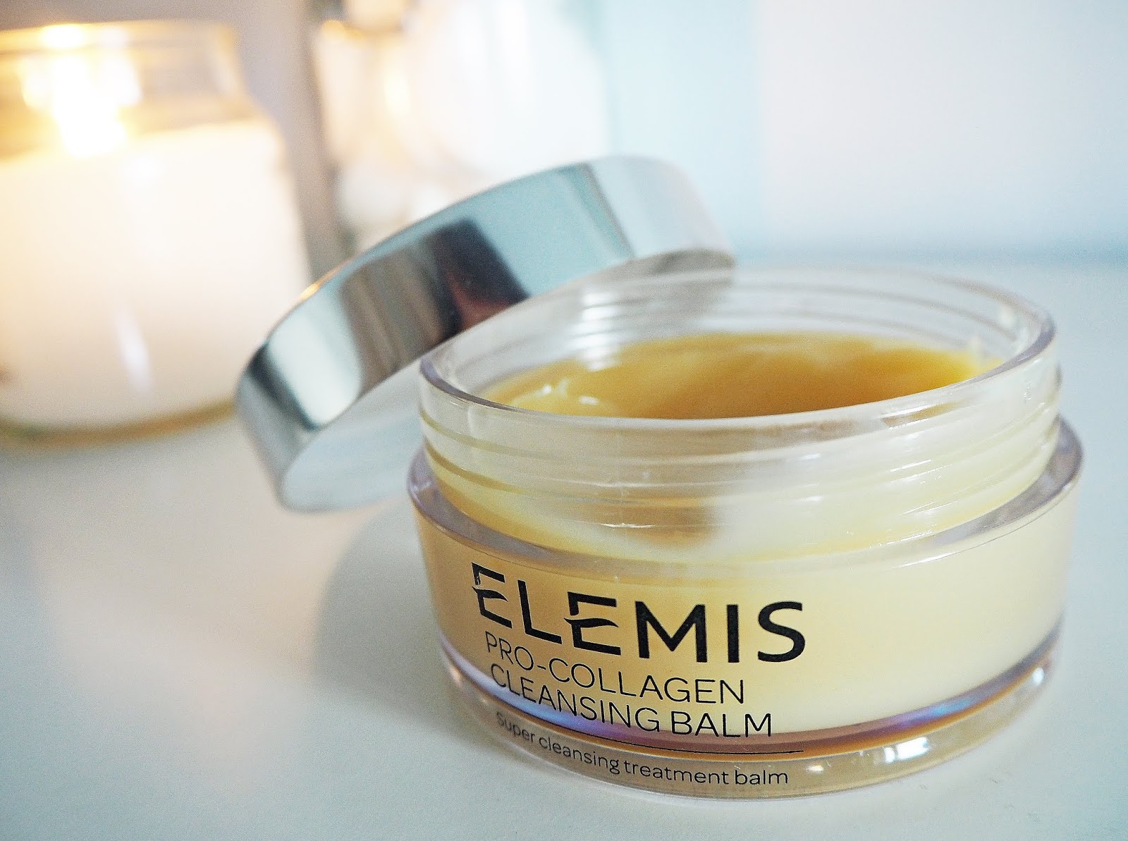 Elemis Pro Collagen Cleansing Balm Evening Skincare Routine