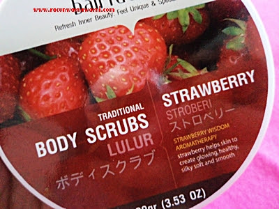 Body Scrubs Strawberry