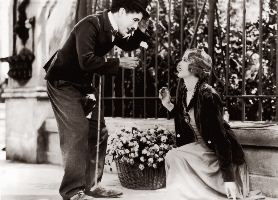 """Charlie Chaplin em """"Luzes da Cidade"""" (1931)"""