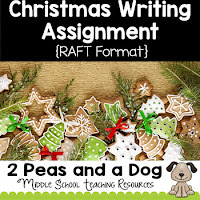 Holiday Creative Writing Assignment ($)