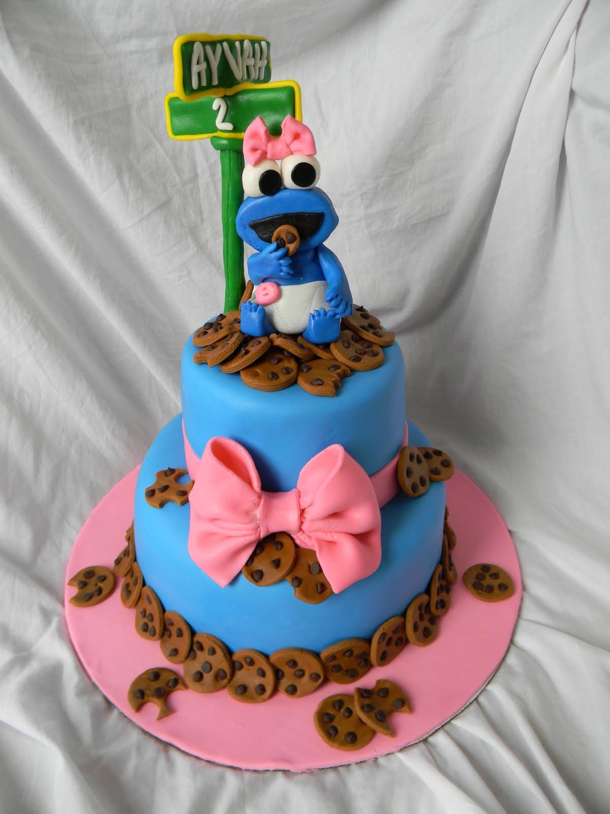Jesicakes Cookie Monster Cake