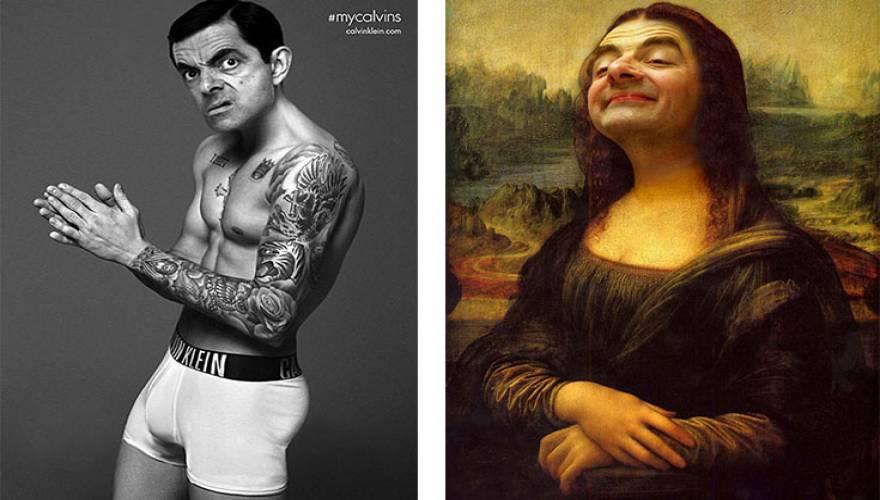 Ο Mr Bean πρωταγωνιστεί στις πιο ξεκαρδιστικές δημιουργίες με Photoshop!