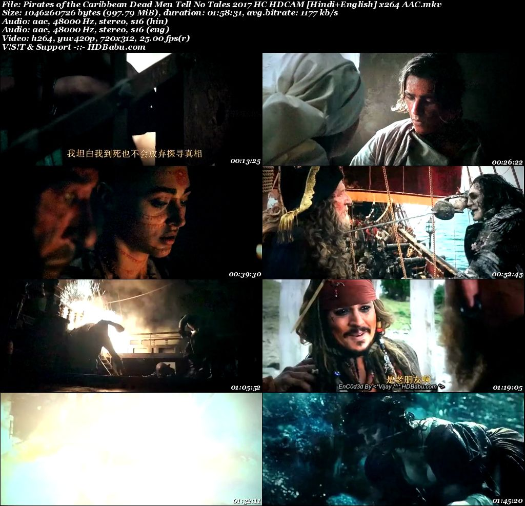 Pirates of the Caribbean Full Movie Download