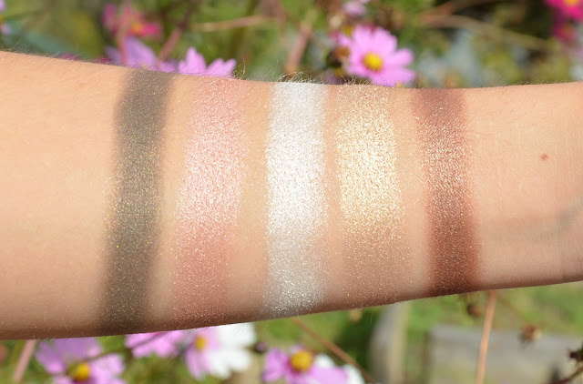Blogger Mail: New L.O.V Fall Products Luxurious Eyeshadow Palette 720 Devoted To Metallics Swatches
