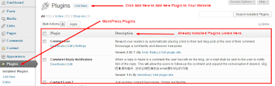 WordPress Plugins Installation - Image 1