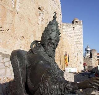 El Papa Luna en el Castillo de Peñíscola, viajes y turismo