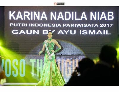Putri Pariwisata Indonesia Ramaikan Pembukaan Ijen Festival Bondowoso 2018