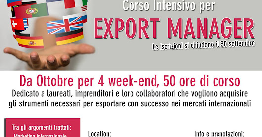 Tempesta and Partners Consulting: Corso Intensivo per Export Manager