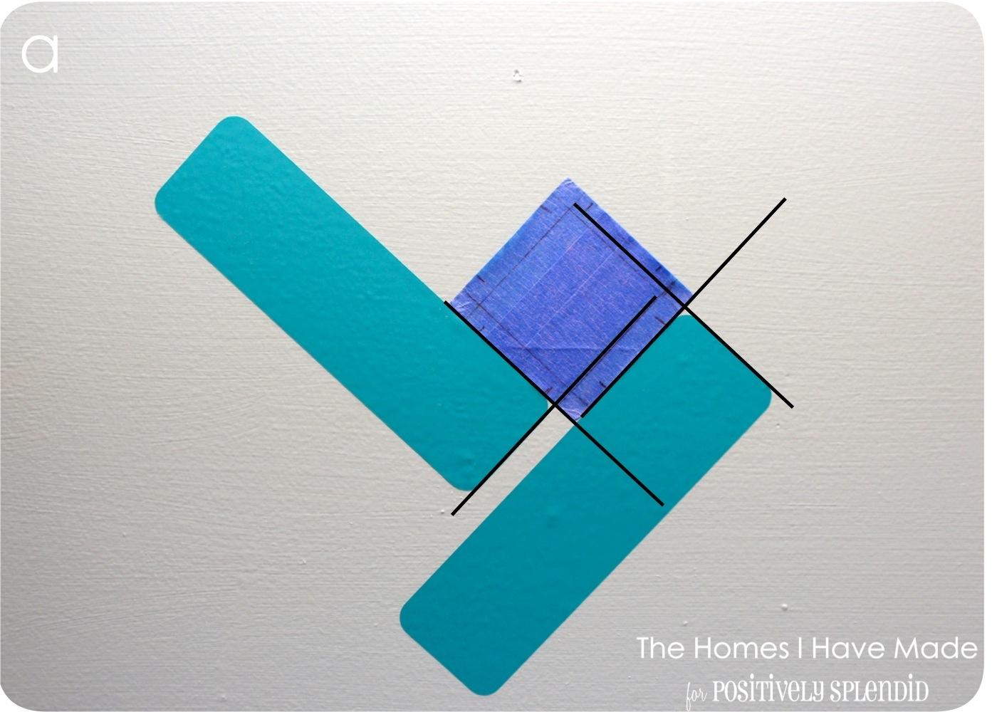 Cross-Hatch Vinyl Tile Backsplash - Positively Splendid {Crafts ...