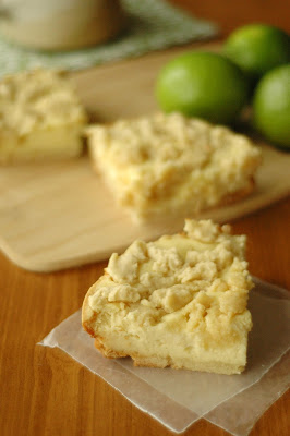 Slow Cooker Lime Cookie Twist Cheesecake Bars from Slow Cooker Gourmet featured for Casserole Crock Saturdays from SlowCookerFromScratch.com