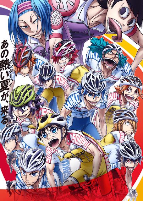 Yowamushi Pedal Saison 4, Actu Japanime, Japanime, TMS Entertainment,