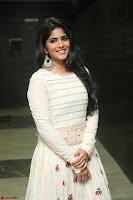 Megha Akash in beautiful White Anarkali Dress at Pre release function of Movie LIE ~ Celebrities Galleries 021.JPG