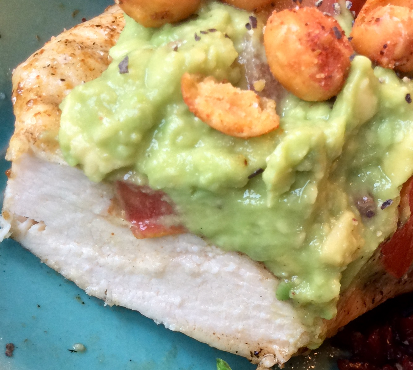 Food Fitness by Paige: Guacamole Grilled Habanero Chicken