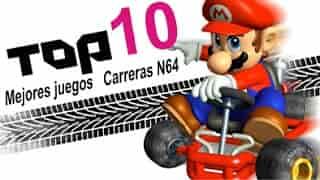 Mega post Top 10 Juegos de Carreras de Nintendo 64