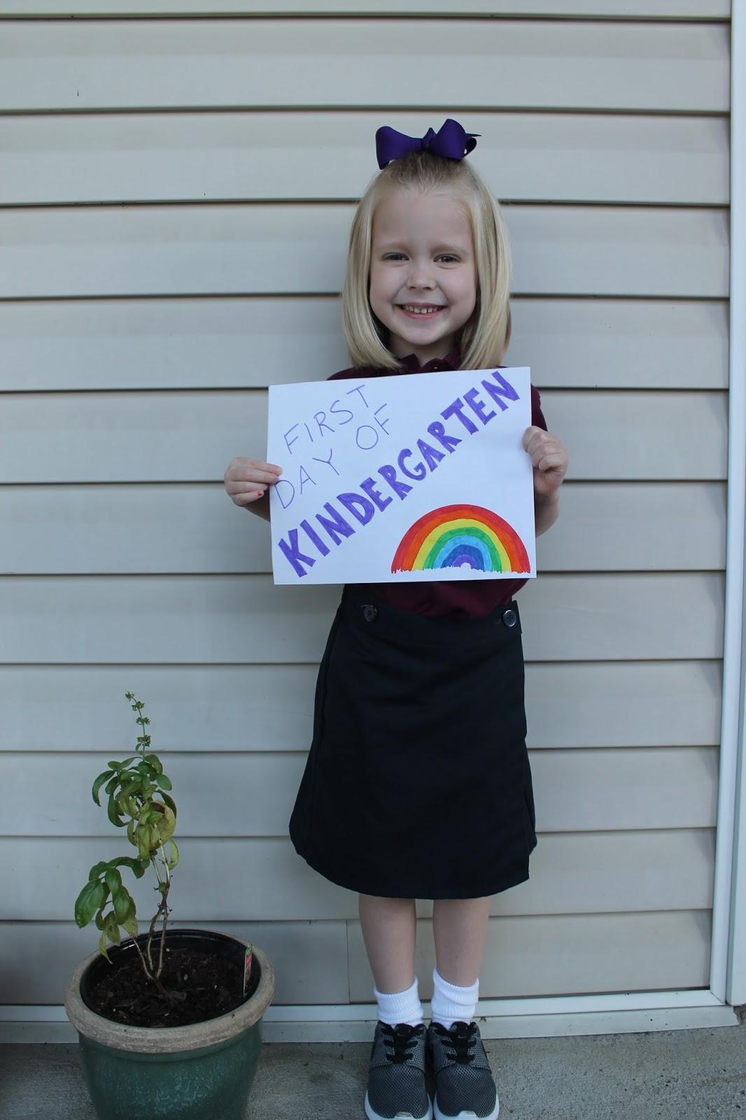 Kinder Garden: Jen's Blog: First Day Of Kindergarten