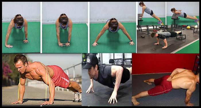 فوائد تمارين الضغط Top Fitness8