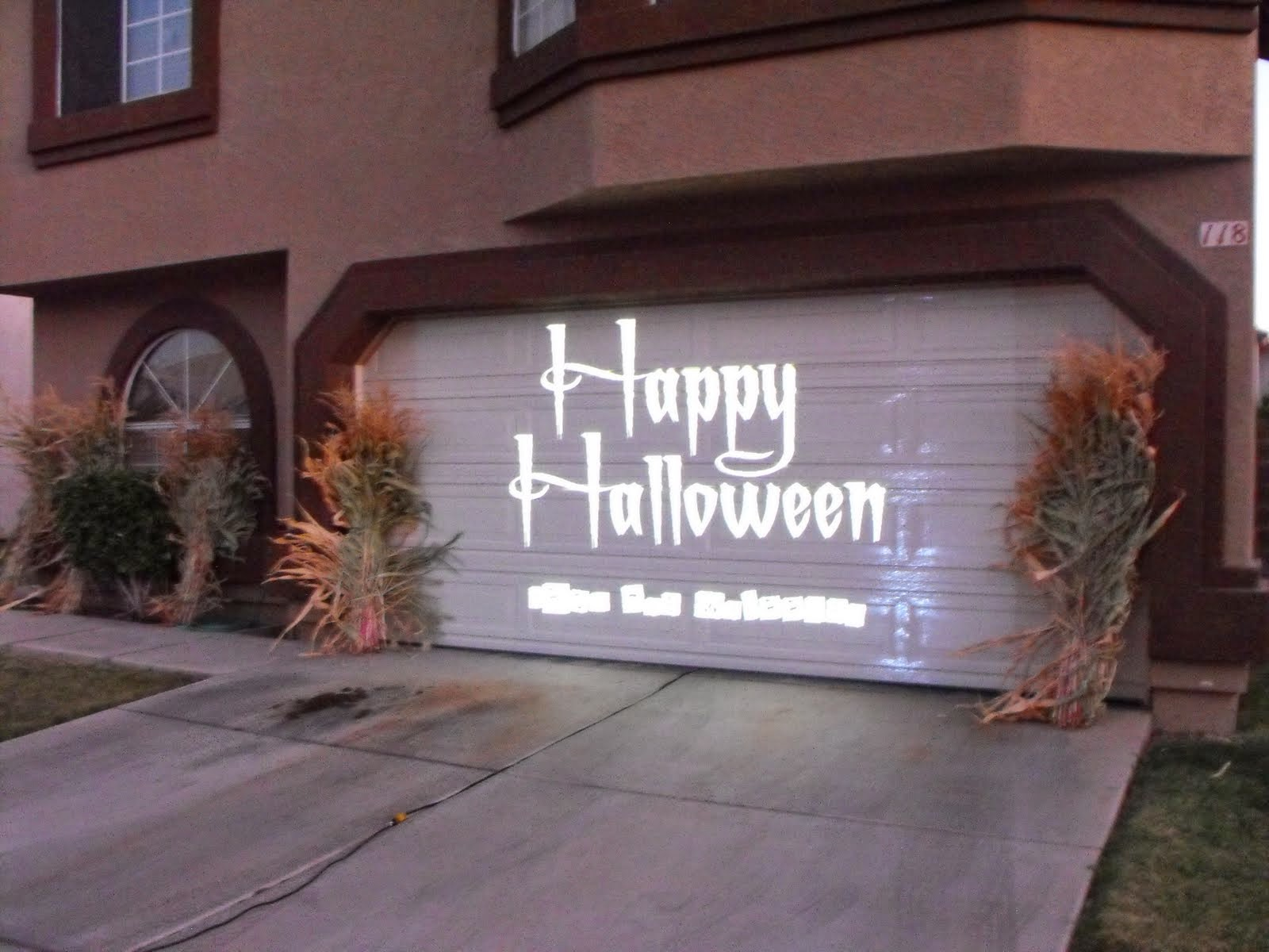 15 best Holiday Doors images on Pinterest Garage doors, Carriage - Halloween Garage Door Decorations